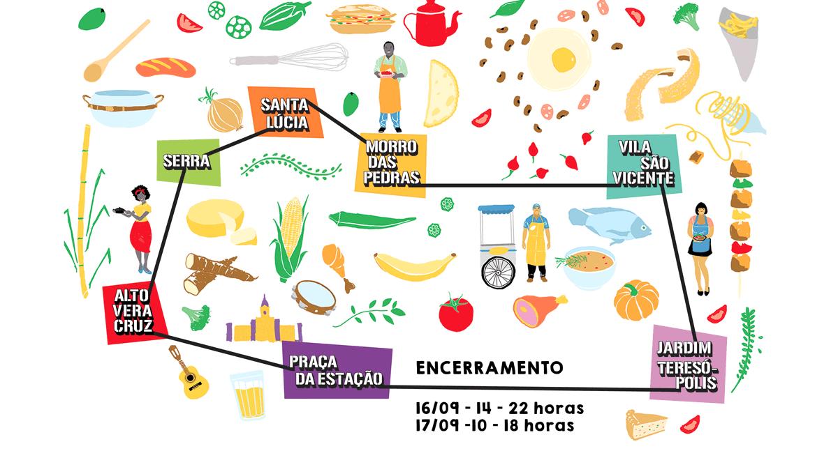Circuito Gastronomico : Circuito gastronômico de favelas rangonafavela dicas bh