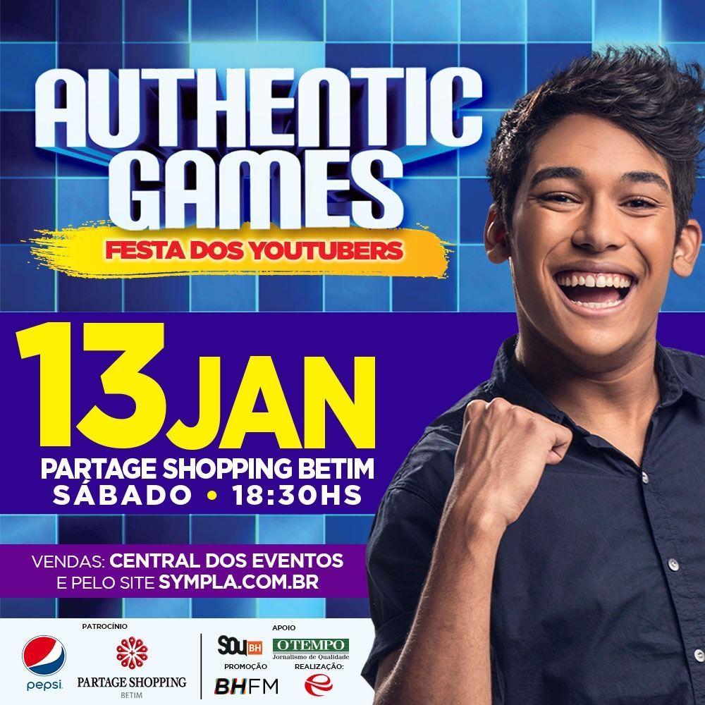 Authentic Games Festa Dos Youtubers Em Betim Dicas Bh